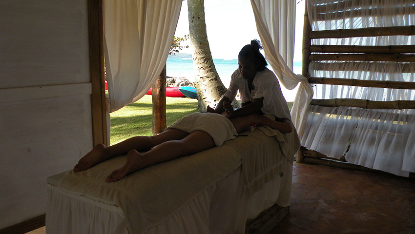 Indulge in a massage, in your hotel room or by the beach.